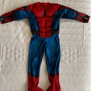 Spider-Man Costume with Hoodie and Glove